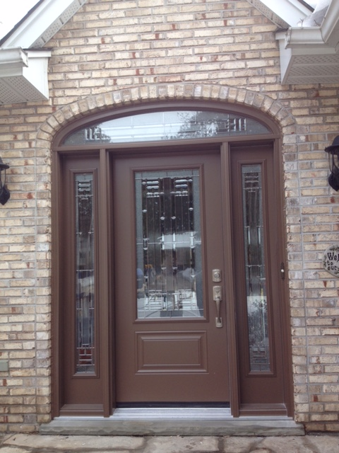 Steel Door With Sidelights And Transom Heritage Renovations