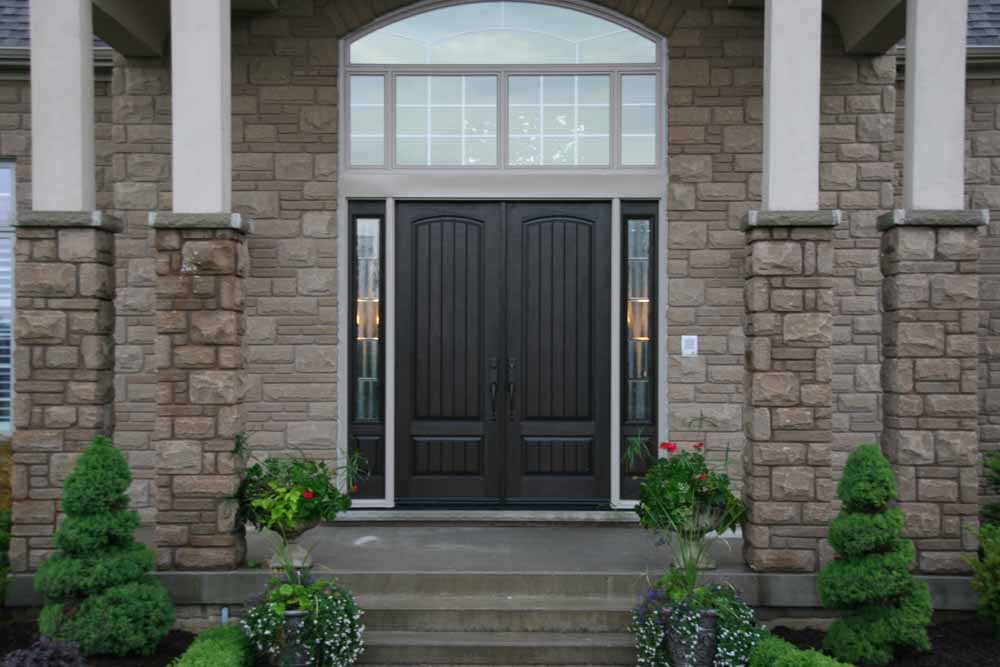 Generally the front door is a guestu0027s first impression of your home. : fibreglass doors - pezcame.com